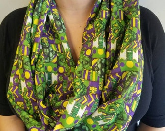 The Incredible Hulk women's scarf