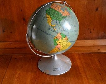 World Globe 1964 Nystrom