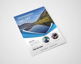 Photography Flyer Design   Flyer Customization   Photoshop Template    Marketing Templates For Photographers
