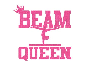 Beam Queen Iron On Decal