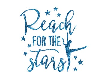 Customer order Reach for the Stars Dance Iron On Decal