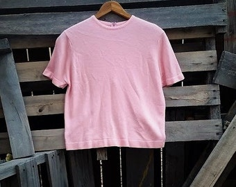 Vintage Light Pink Talbots Top