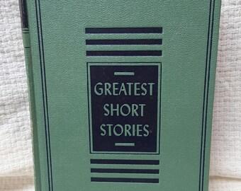 COLLIER Greatest Short Stories Volume VI copyright 1940