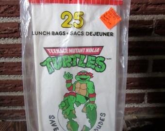 Teenage Mutant Ninja Turtles Lunch Bags, Teenage Mutant Ninja Turtles Party Bags, TMNT Bags, TMNT Party Bags, TMNT
