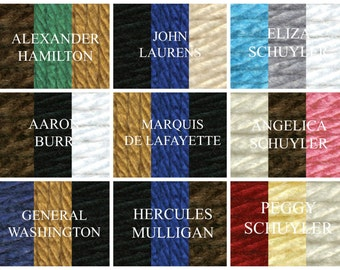Hamilton The Musical Inspired Infinity Scarves