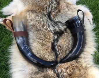 Viking Drinking Horn W/ holder