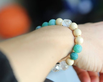 Frosted beachy casual bracelet