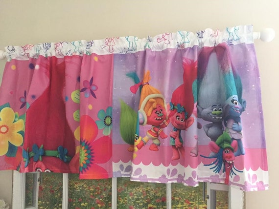 Princess Poppy Troll Curtains