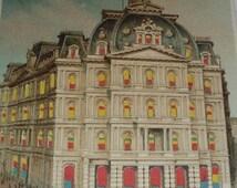 ON SALE RARE Hold to Light Postcard Udb Koelher Postcard - New York Post Office