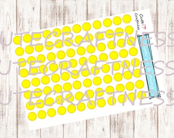 Weather sun stickers perfect for your planner