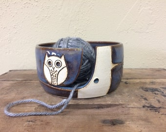 Yarn Bowl Etsy