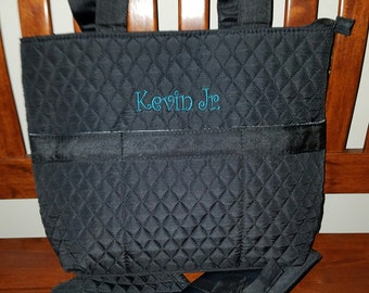 Diaper Bags- Monogrammed --NEW SOLID COLORS