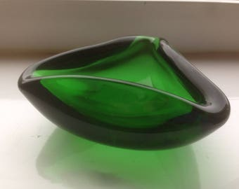 Vintage Retro Whitefriars triangle bowl dish ashtray Mid Century