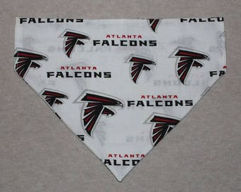 Atlanta Falcons Dog Bandanna in Small, Medium, or Large