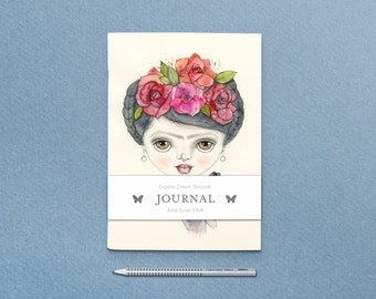 Frida Journal with Belly Band