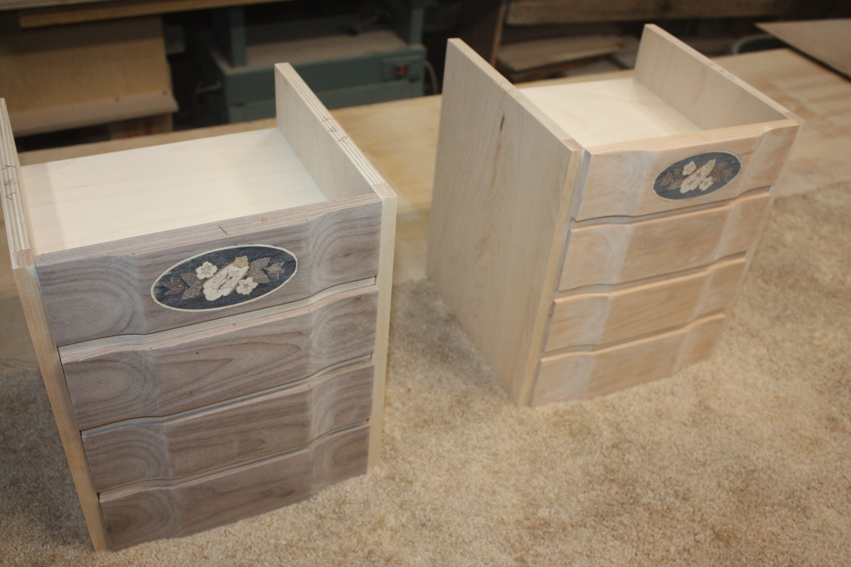 Making a Walnut and Cherry Wood 4 Drawer Jewelry Box