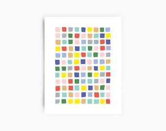 Art Print - Blocks - 11x14 Print