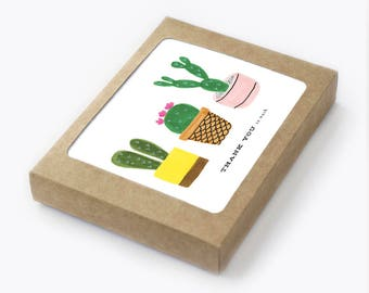 Cacti Thank You So Much - Pack of 8
