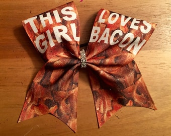 this girl loves bacon