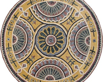 Floral Geometric Wall Medallion - Deysi
