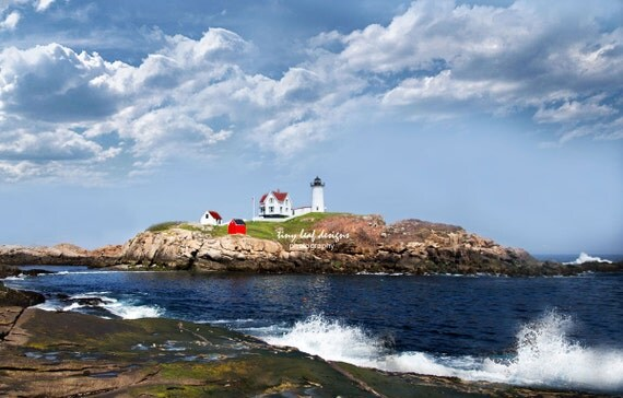 Nubble Lighthouse - Maine Original Photography