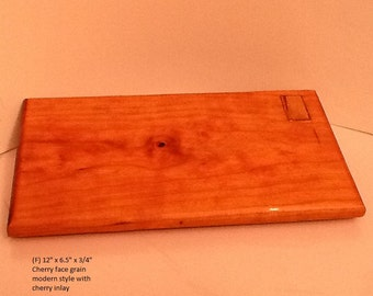 cherry with inlay cutting board