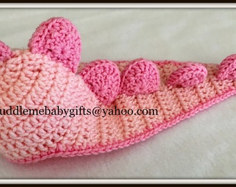 Baby Girl Baby Dinosaur Baby Crochet Baby Dinosaur Hat Baby Shower Gift Baby Photo Prop Hat