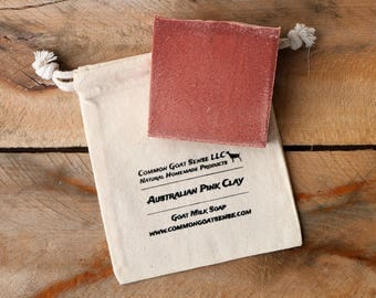 Australian Pink Clay Goat Milk Soap