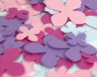 Spring hydrangea paper confetti in two tiny sizes CourtsGarden