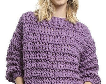 THE CARINA SWEATER - Knit Kit