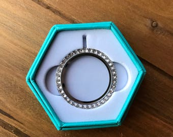 Large Origami Owl Locket Face