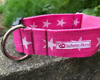 Lap dog star pink collar for dogs