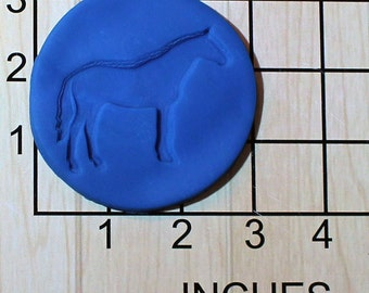 Horse Fondant Cookie Cutter AND Stamp #1582