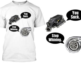Supercharger, Turbocharger Funny Shirt