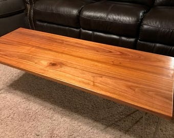 Limited Edition Canarywood Coffee Table
