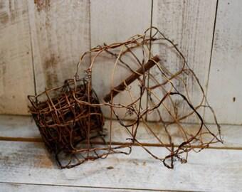 "Vine & Twig Ribbon Garland - 3"" x 9 ft"
