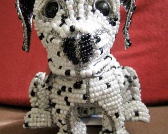 Maximillion Dalmatian Dog by Beadworx Grassroots Creations