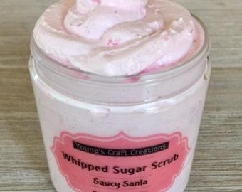 Whipped Sugar Scrub  Foaming Sugar Scrub  Exfoliating Scrub