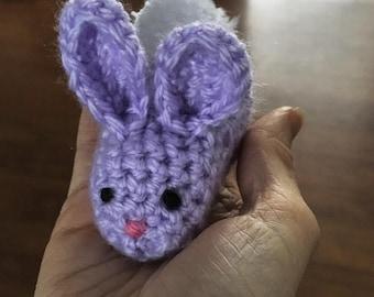 Mini crochet Easter bunny
