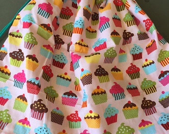 Colourful Cupcakes  library bag, swimming bag, etc 41