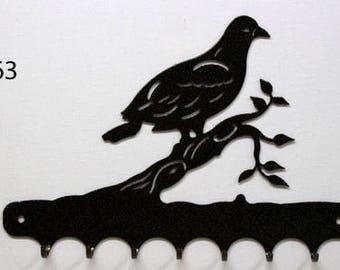 Hangs key pattern metal: pigeon