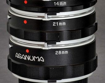 Minolta MC / MD Extension Tube Set by Asunama Macro Lens MiNTY !