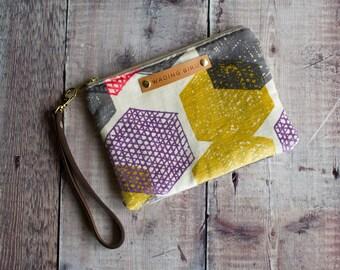 festival bag, boho bag, boho wristlet, wedding clutch, velvet wristlet, evening bag, evening purse, evening wristlet, leather wristlet
