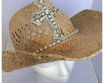 Bling Cowboy Hat Bling Cowgirl Hat Blingy Rhinestones