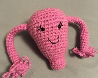 Le Cuterus! AKA, l'utérus au crochet