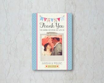 Fete Thank You Card