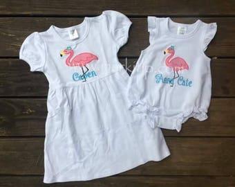 Flamingo Ruffle SHIRT