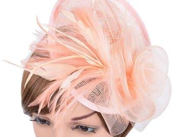 Fascinators event hats women hats feather fascinators