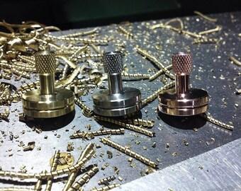 Tiny Top 2.0  (Brass) Mini Spinning Top