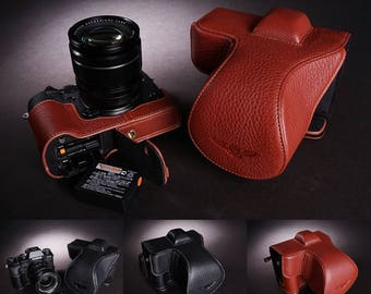 Fujifilm XT2 leather cameras case, X-T2 Camera Full Body Case